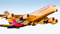 HL7640 - Asiana Airlines Airbus A380 aircraft