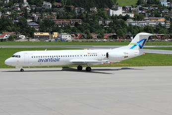 D-AOLG - AvantiAir Fokker 100