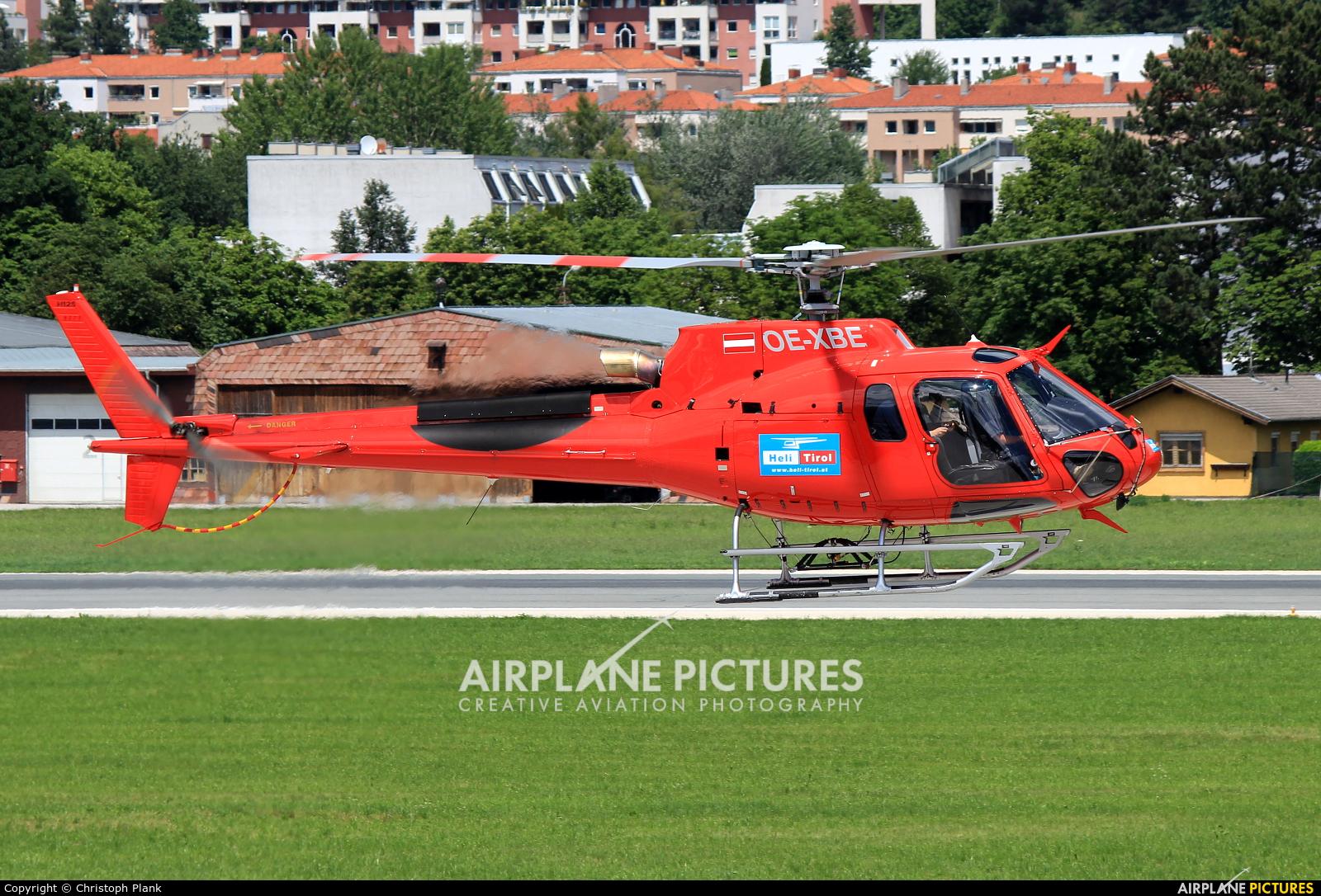 Heli Tirol OE-XBE aircraft at Innsbruck