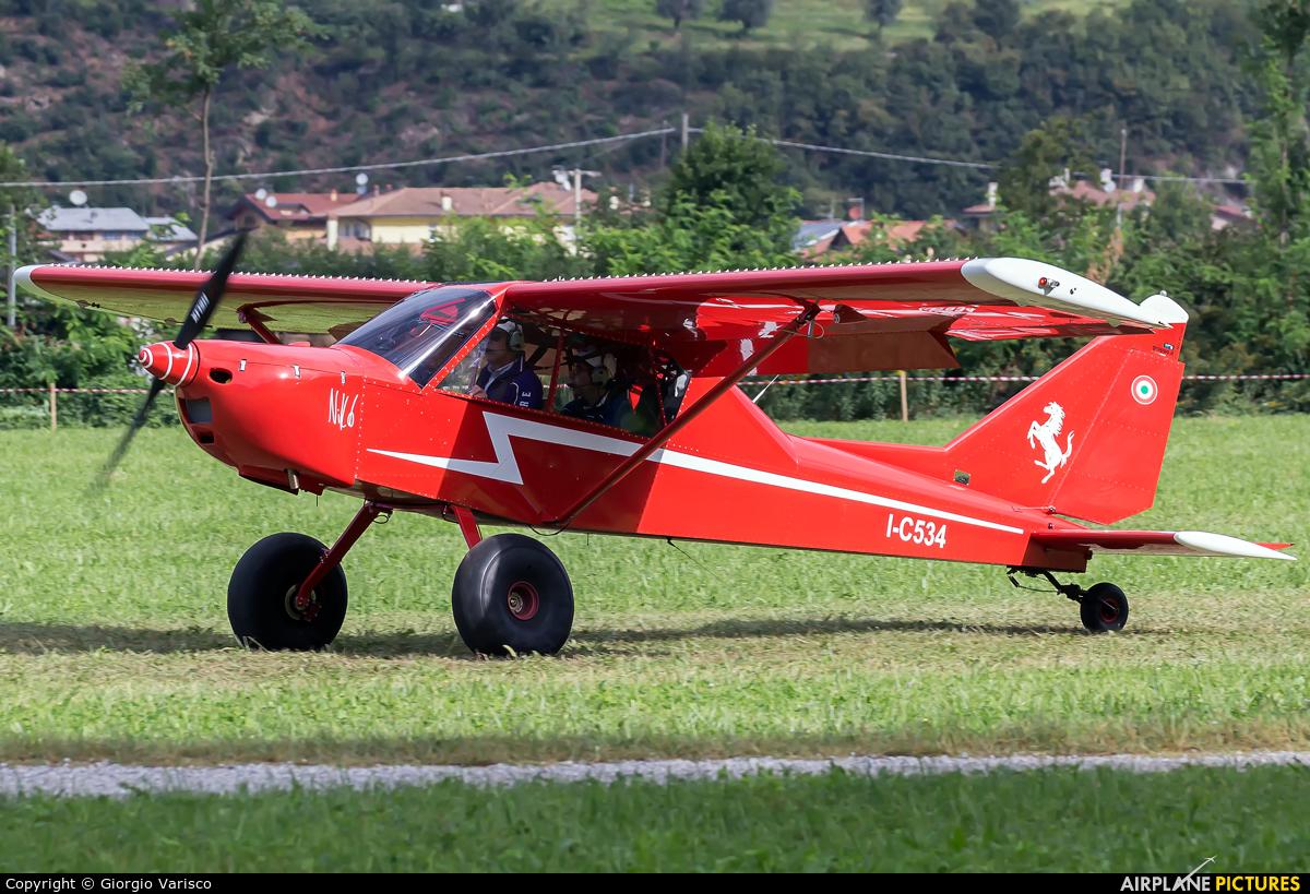 Private I-C534 aircraft at Costa Volpino