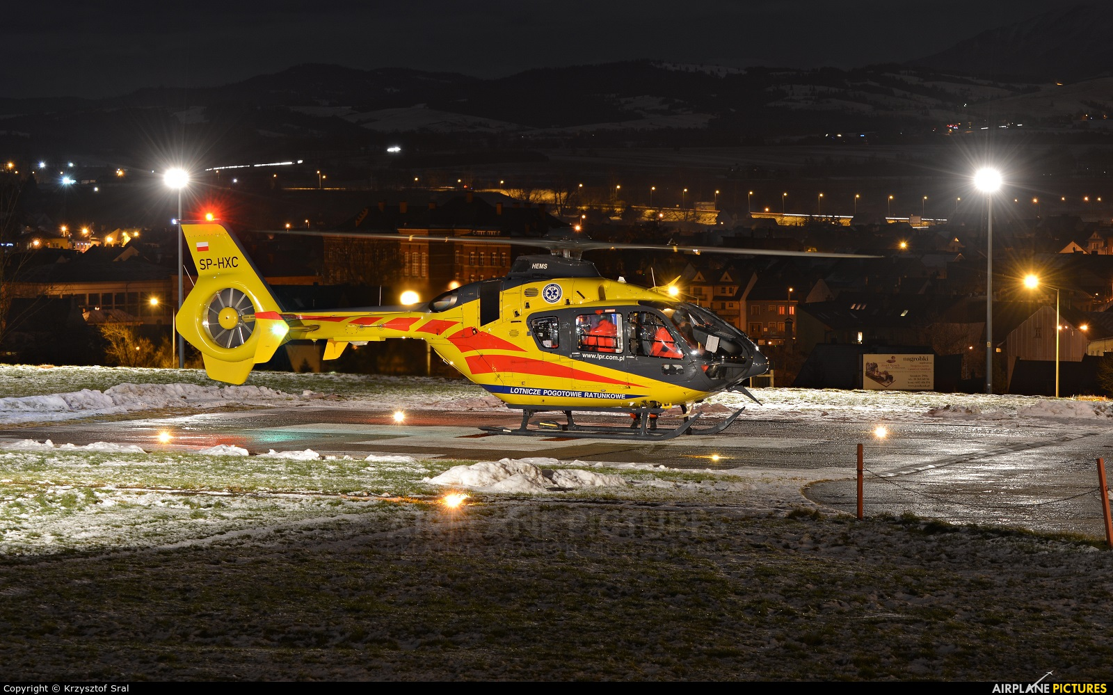Polish Medical Air Rescue - Lotnicze Pogotowie Ratunkowe SP-HXC aircraft at Nowy Targ