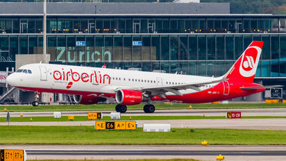 HB-JOV - Air Berlin - Belair Airbus A321
