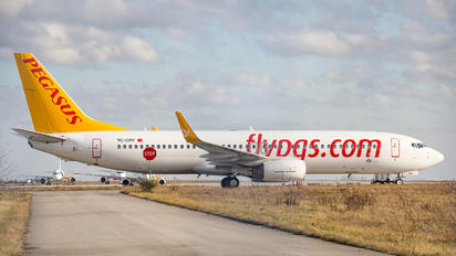 TC-CPV - Pegasus Boeing 737-800