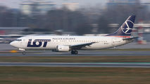 SP-LLE - LOT - Polish Airlines Boeing 737-400 aircraft