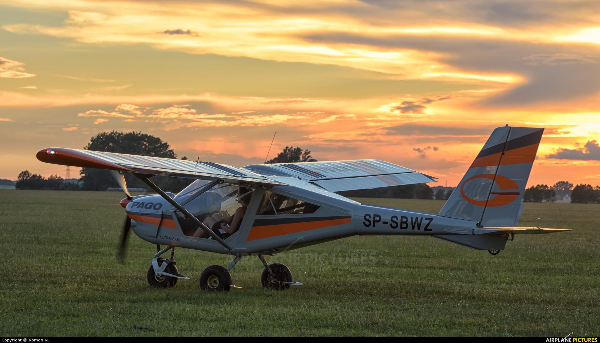 Private SP-SBWZ aircraft at Leszno - Strzyżewice