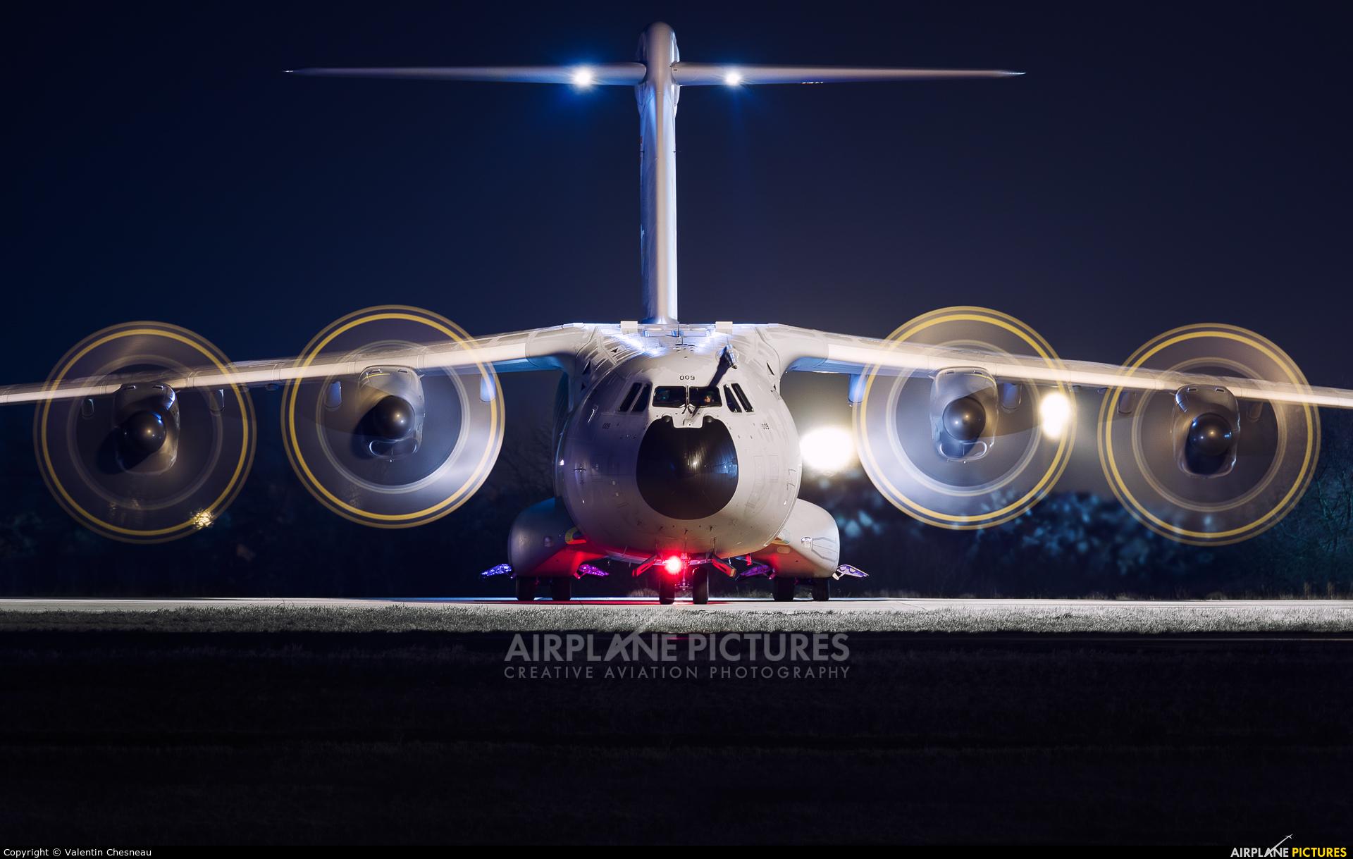 Turkey - Air Force 13-0009 aircraft at Paris - Charles de Gaulle