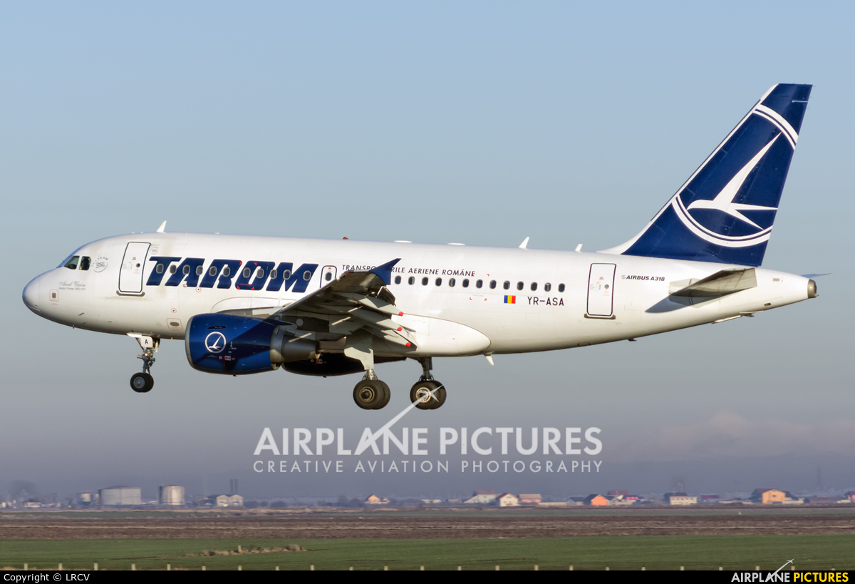 Tarom YR-ASA aircraft at Craiova