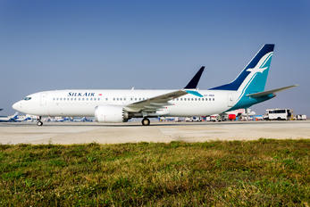 9V-MBB - SilkAir Boeing 737-8 MAX