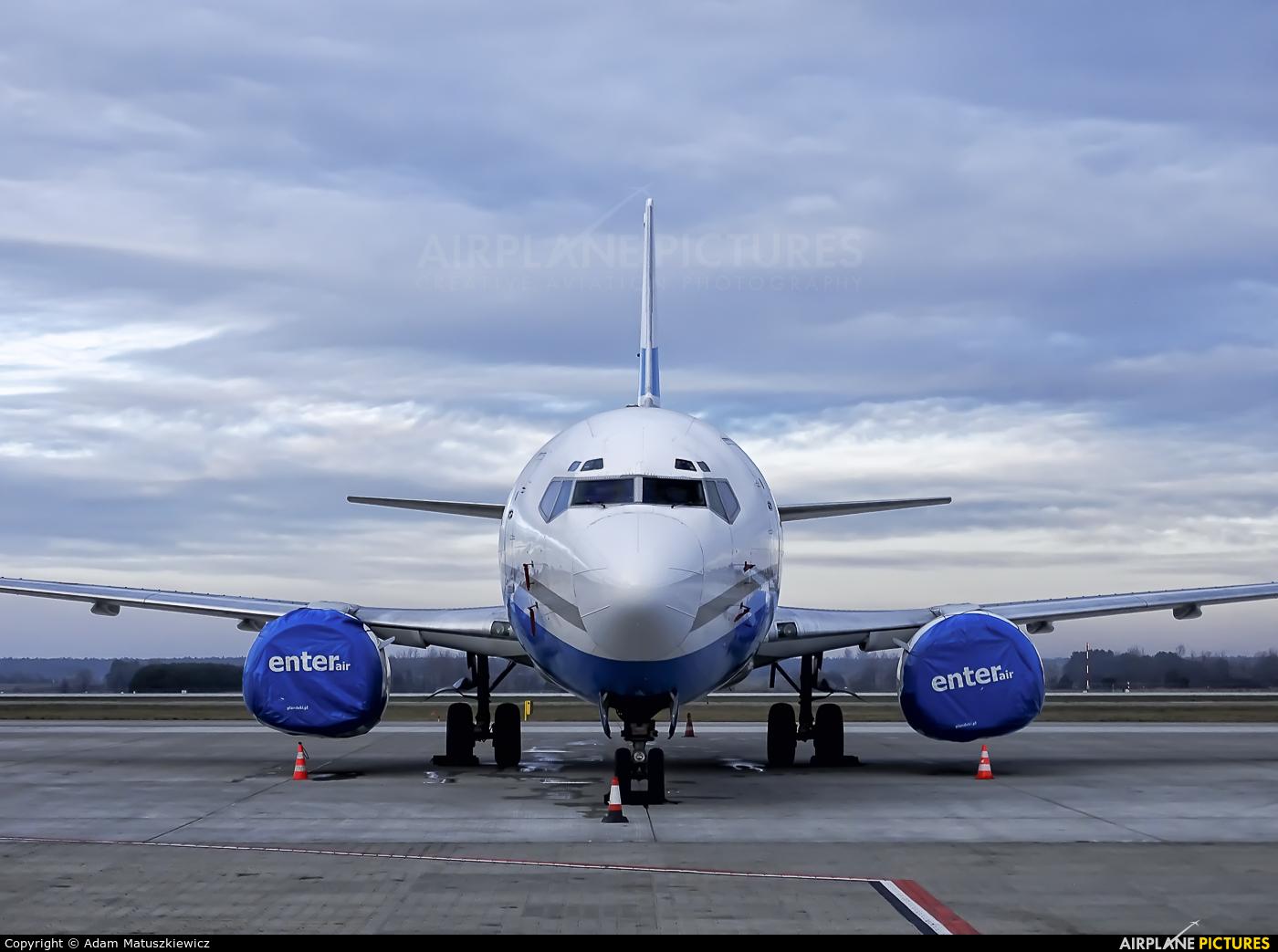 Enter Air SP-ENA aircraft at Katowice - Pyrzowice