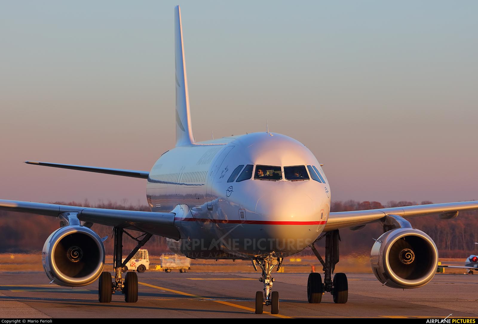 Aegean Airlines SX-DNE aircraft at Milan - Malpensa