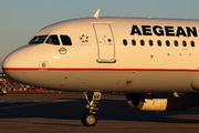 SX-DVK - Aegean Airlines Airbus A320 aircraft