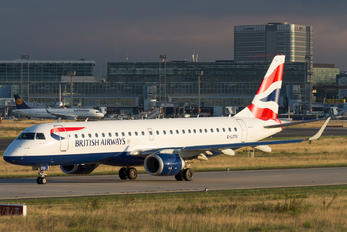 G-LCYU - British Airways - City Flyer Embraer ERJ-190 (190-100)