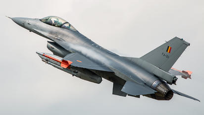 FA-121 - Belgium - Air Force General Dynamics F-16A Fighting Falcon