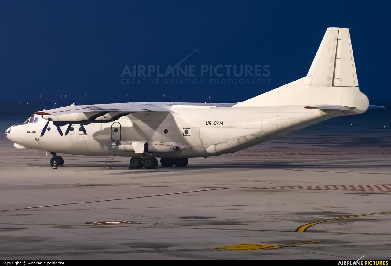 Cavok Air UR-CKM aircraft at Venice - Marco Polo