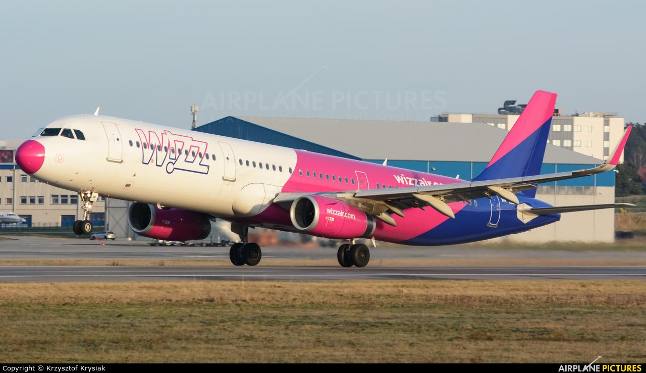 Wizz Air HA-LXM aircraft at Gdańsk - Lech Wałęsa