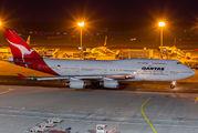 VH-OJC - QANTAS Boeing 747-400 aircraft