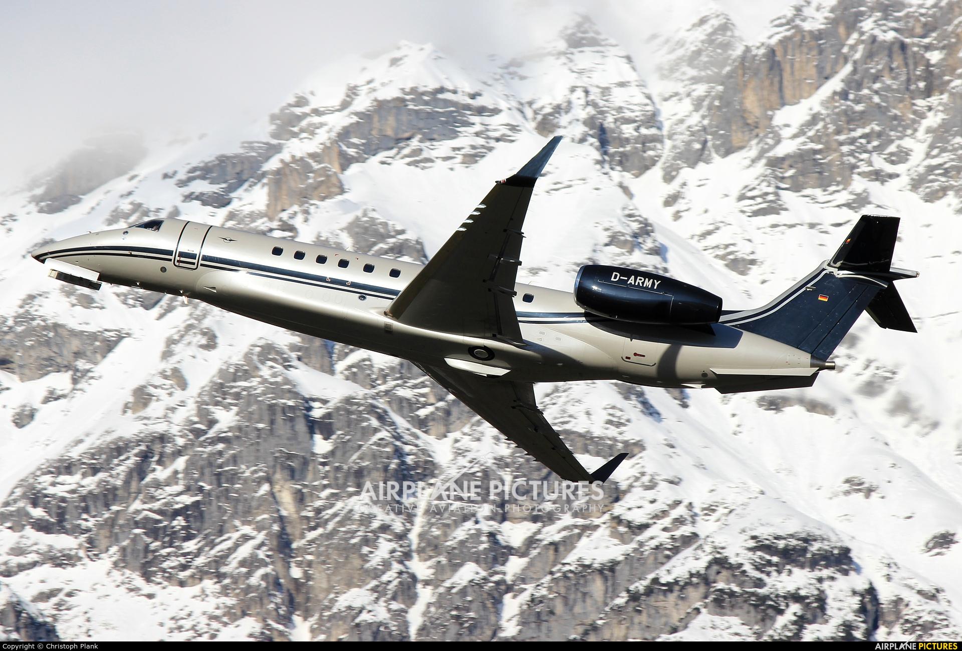 Air Hamburg D-ARMY aircraft at Innsbruck
