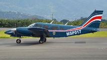 MSP017 - Costa Rica - Ministry of Public Security Piper PA-34 Seneca aircraft