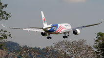 9M-MAC - Malaysia Airlines Airbus A350-900 aircraft