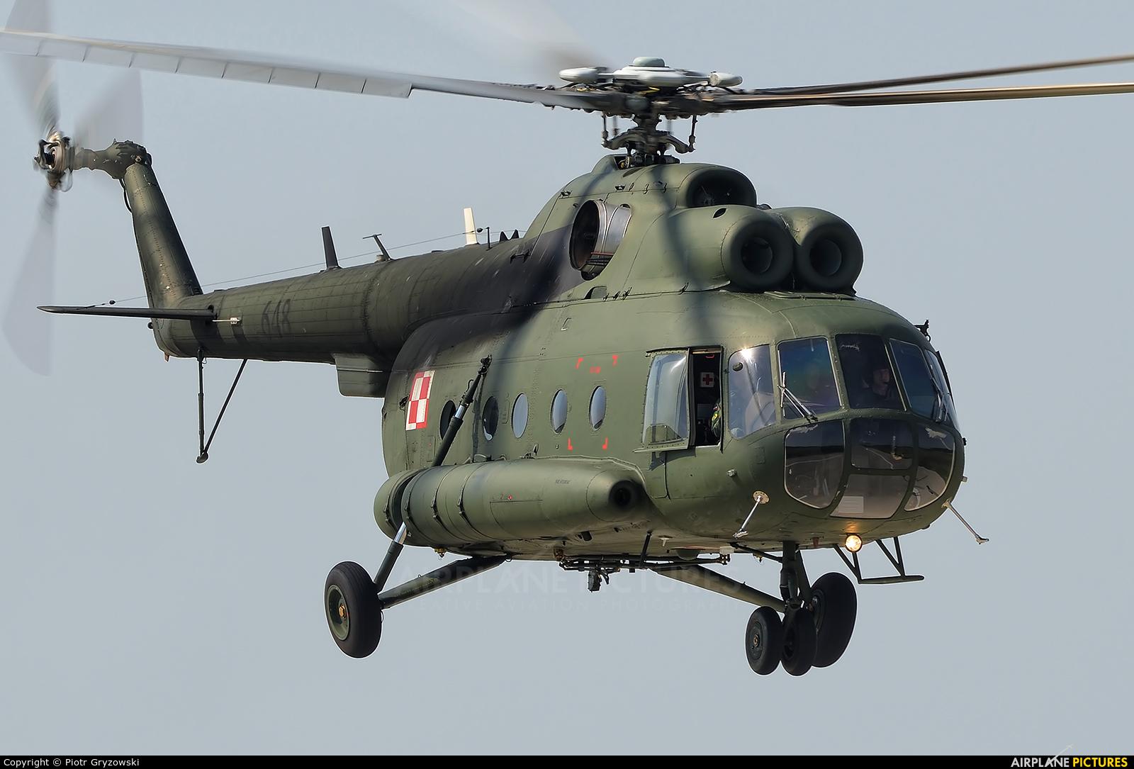 Poland - Army 648 aircraft at Mińsk Mazowiecki