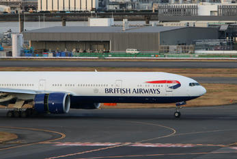 G-STBH - British Airways Boeing 777-300ER