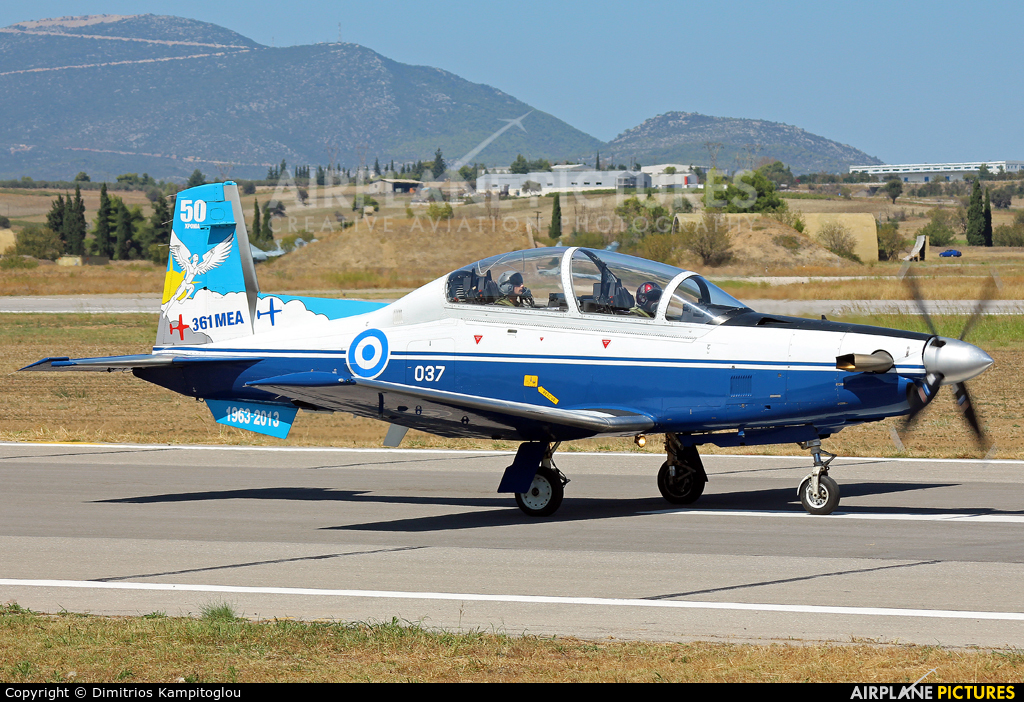 Greece - Hellenic Air Force 037 aircraft at Tanagra
