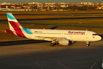 D-ABZN - Eurowings Airbus A320