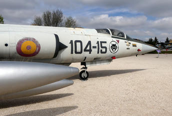 C.8-15 - Spain - Air Force Lockheed F-104G Starfighter