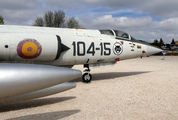 C.8-15 - Spain - Air Force Lockheed F-104G Starfighter aircraft