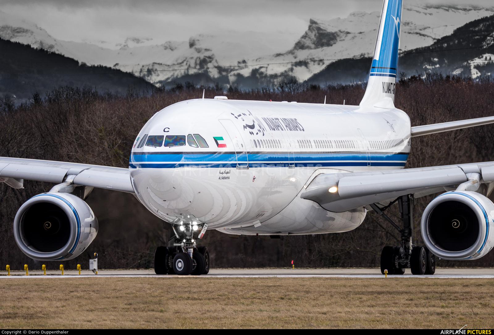 Kuwait Airways 9K-APC aircraft at Geneva Intl