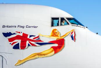 G-VROY - Virgin Atlantic Boeing 747-400