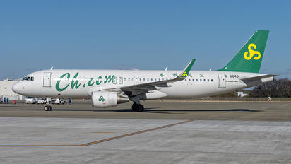 B-6840 - Spring Airlines Airbus A320