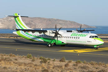 EC-KGJ - Binter Canarias ATR 72 (all models)