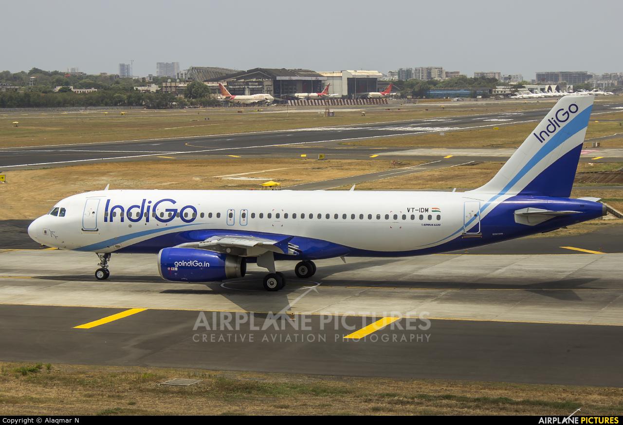 IndiGo VT-IDM aircraft at Mumbai - Chhatrapati Shivaji Intl