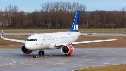 SE-ROC - SAS - Scandinavian Airlines Airbus A320 NEO