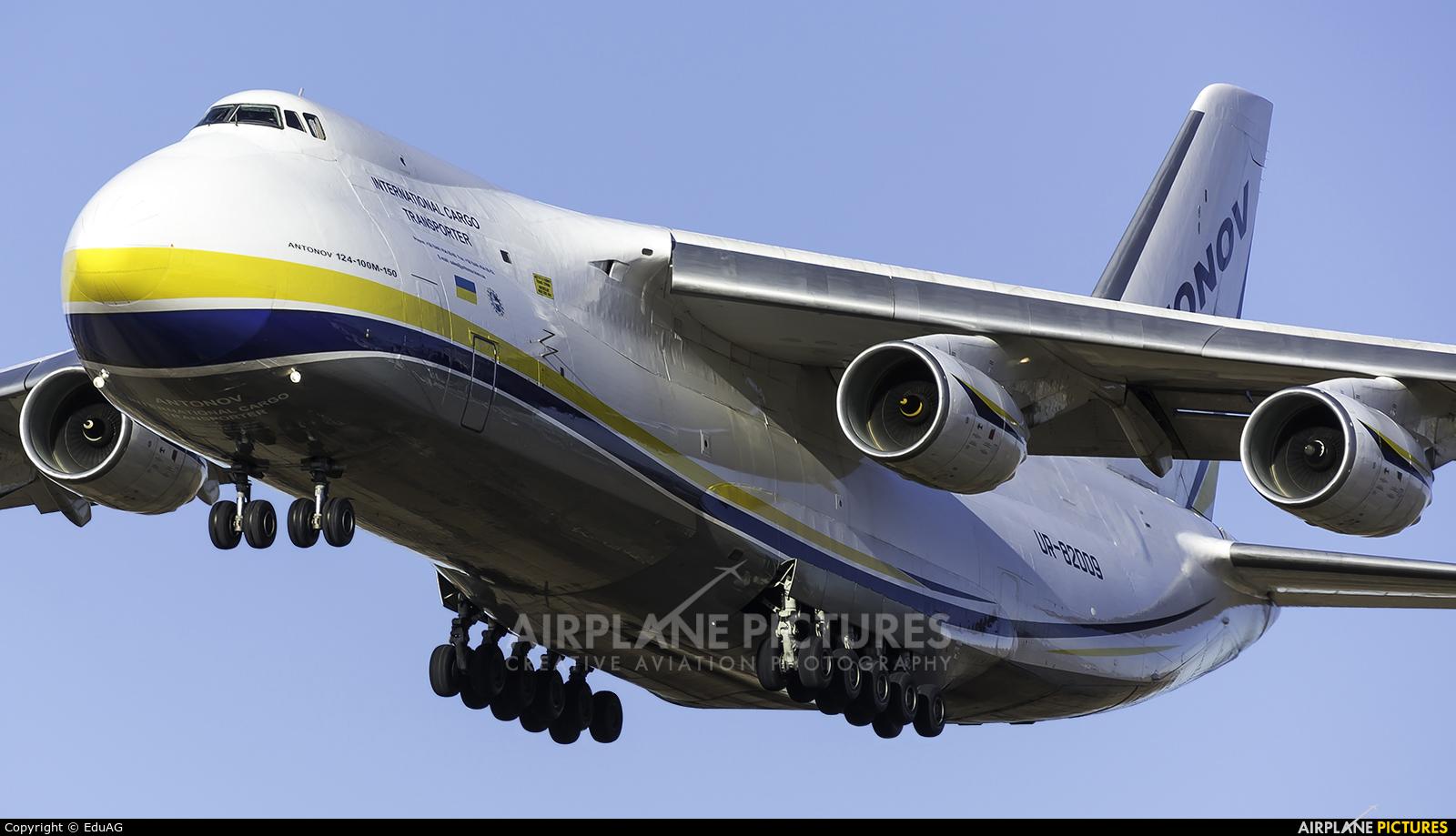 Antonov Airlines /  Design Bureau UR-82009 aircraft at Madrid - Torrejon