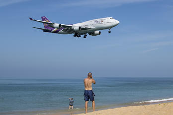 HS-TGY - Thai Airways Boeing 747-400