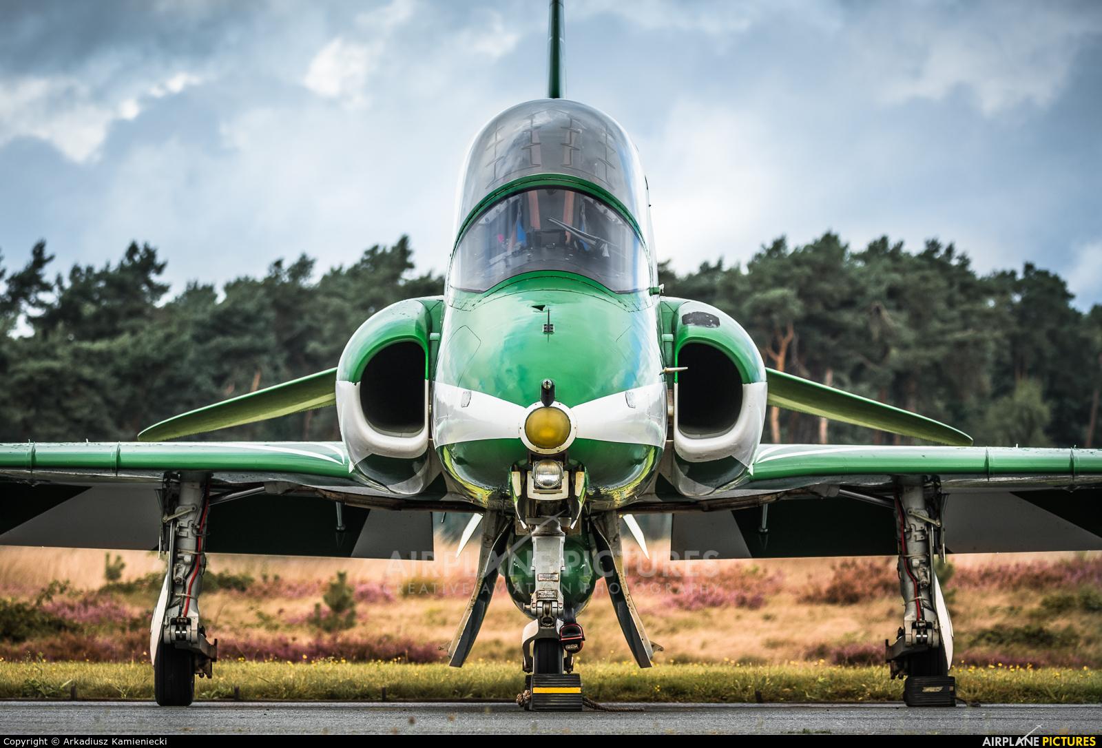 Saudi Arabia - Air Force: Saudi Hawks 8820 aircraft at Kleine Brogel