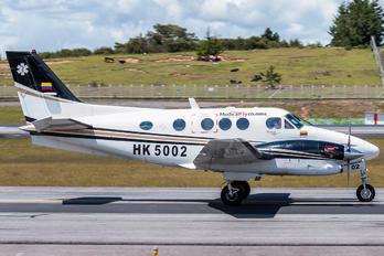 HK-5002 - MedicalFly Beechcraft 90 King Air