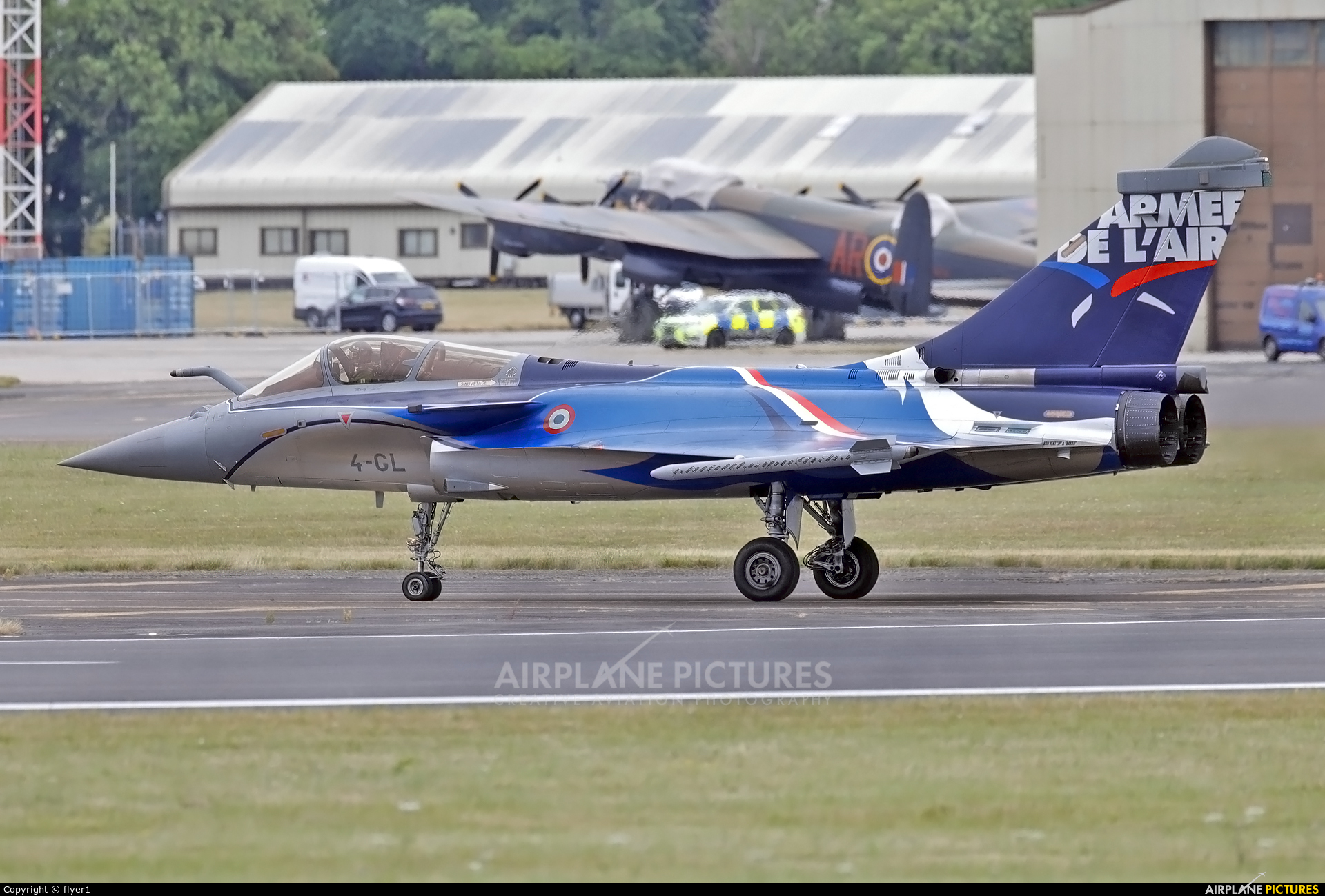 France - Air Force 4-GL aircraft at Fairford