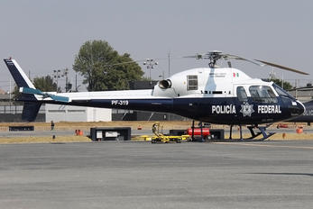 PF-319 - Mexico - Police Eurocopter AS355 Ecureuil 2 / Squirrel 2