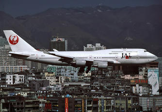 JA8911 - JAL - Japan Airlines Boeing 747-400