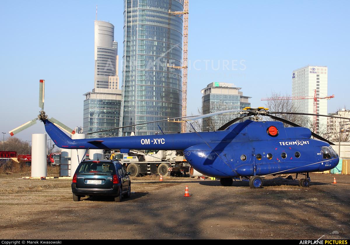 Techmont OM-XYC aircraft at Warsaw - Off Airport