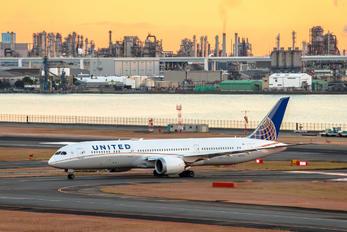 N27957 - United Airlines Boeing 787-9 Dreamliner