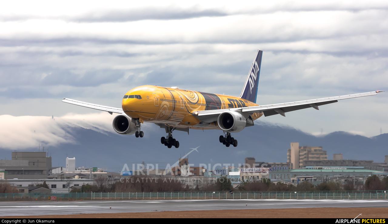 ANA - All Nippon Airways JA743A aircraft at Osaka - Itami Intl