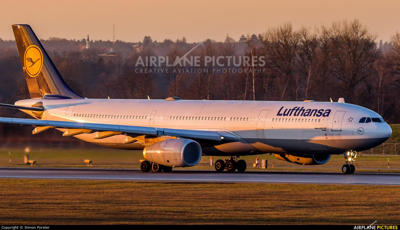 Lufthansa D-AIKC aircraft at Munich