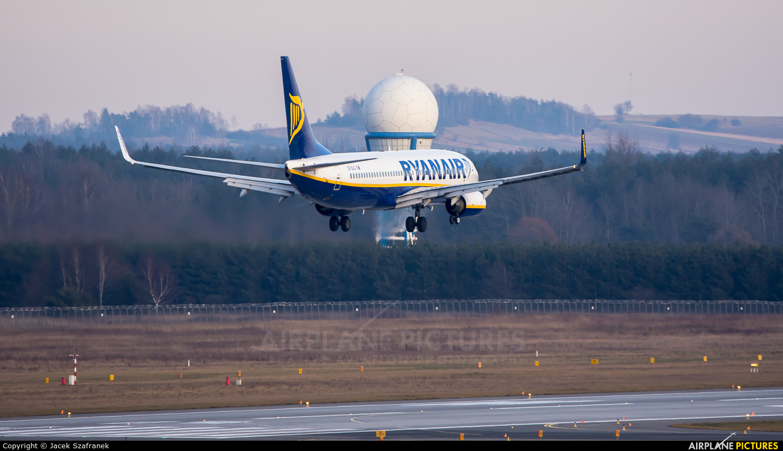 Ryanair EI-DLG aircraft at Katowice - Pyrzowice