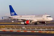 OY-KAU - SAS - Scandinavian Airlines Airbus A320 aircraft