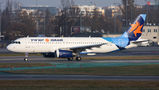 Israir Airlines Airbus A320 4X-ABF at Warsaw - Frederic Chopin airport