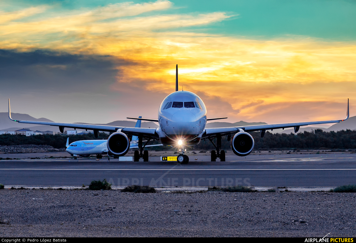 Air Berlin - Belair HB-JOX aircraft at Fuerteventura - Puerto del Rosario